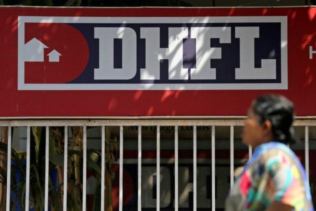 住宅ローンを扱うDHFLは社債のデフォルトを起こした(ムンバイ郊外)=ロイター