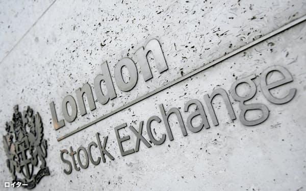 英国株に見直し買いが続いている(ロンドン証券取引所)=ロイター