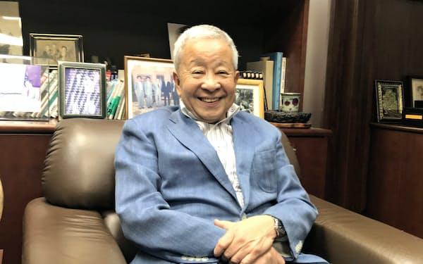 元財務官の榊原英資・青山学院大学特別招聘教授