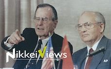 冷戦終結のマルタ会談から30年 ロシアに積もる恨み