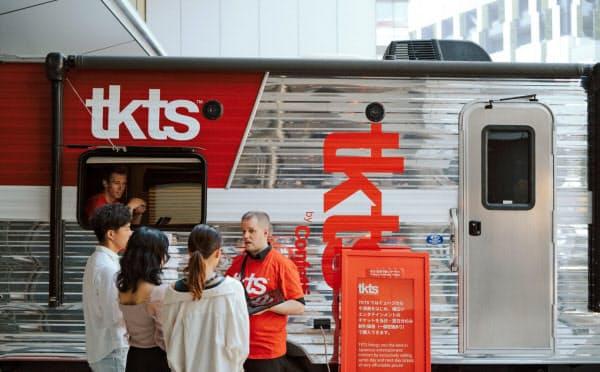 東京・渋谷に開業したブロードウェー発祥のチケットストア「tkts」