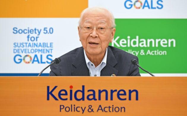 全世代型会議は経団連会長の説得力ある発言を議事録から消した