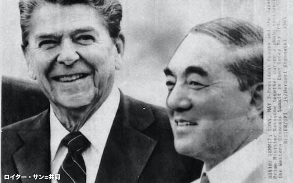 レーガン米大統領との「ロン=ヤス蜜月」でも知られた