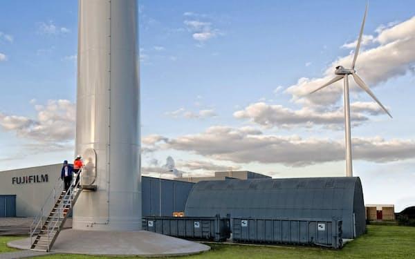再生エネ100%で操業する富士フイルムHDのオランダの工場