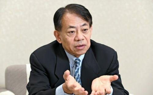 ADBの次期総裁に選出された浅川雅嗣氏=岩田陽一撮影