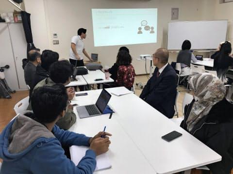 バングラデシュのIT人材定着のため、宮崎市が開いた支援セミナー(宮崎市の宮崎大学まちなかキャンパス)