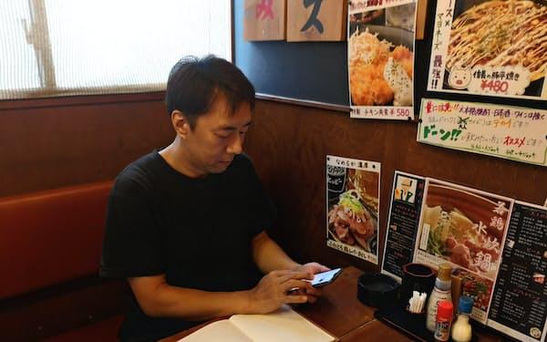 12月のかき入れ時にはスポットの求人を出してアルバイトのスタッフを確保する(東京都江東区の居酒屋「80円焼鳥専門信長木場店」)