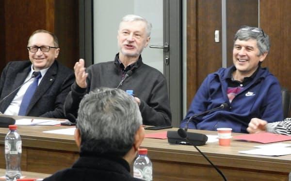 ノボシビルスク大のAI研究者からは前向きな発言が相次いだ(11月19日)