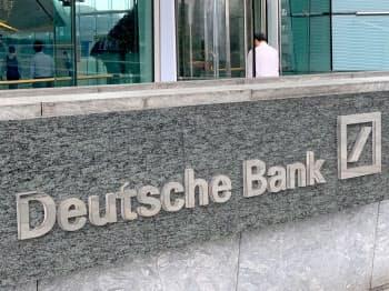 経営再建中のドイツ銀行=ロイター
