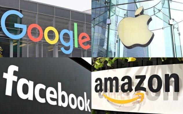 米GAFAなど世界ではITシステム開発を内製化する企業が多い