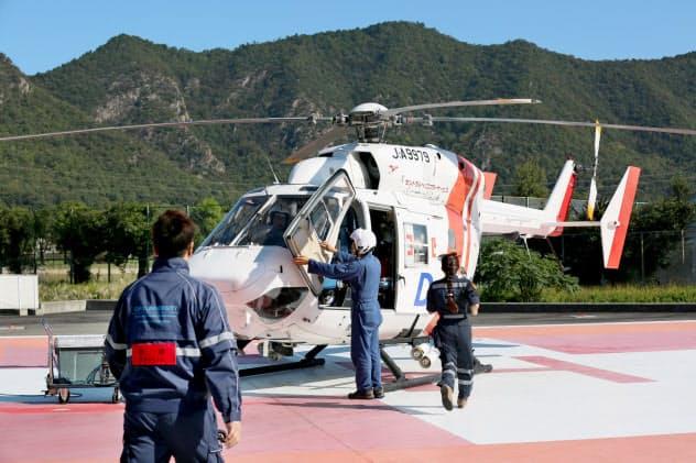 ドクターヘリが岐阜県全域を30分でカバーする(岐阜市)