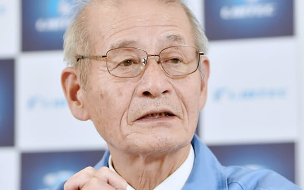 旭化成の吉野彰名誉フェロー(リチウムイオン電池材料評価研究センター理事長)