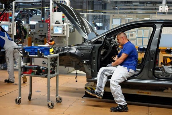 VWのツウィッカウ工場は20年6月に「ゴルフ」の生産を終了し、EV工場に転換する