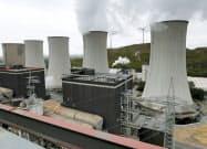 ドイツ西部で稼働する石炭火力発電所(2018年9月)=ロイター