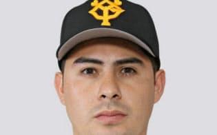クリスチャン・ビヤヌエバ内野手=共同