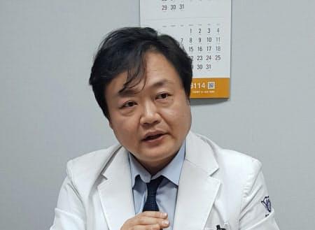 中央自殺予防センターの白宗祐(ペク・ジョンウ)センター長