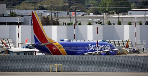 米ボーイングの小型旅客機「737MAX」=ロイター