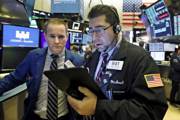 米株式相場は小動き(ニューヨーク証券取引所)=AP