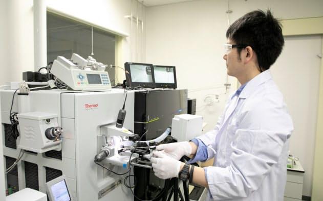 エーザイの筑波研究所では認知症に関する様々な研究が進められている(茨城県つくば市)