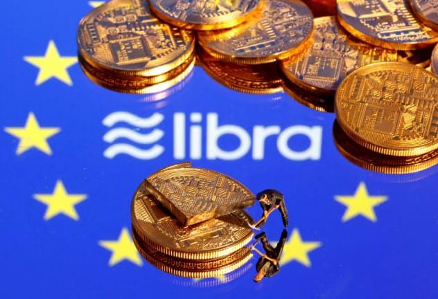 米フェイスブックはデジタル通貨「リブラ」の発行を計画する=ロイター