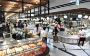 地下2階の食料品売り場(渋谷スクランブルスクエア東棟)