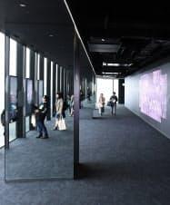 展望施設「SHIBUYA SKY」の屋内部分(渋谷スクランブルスクエア東棟)