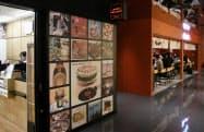 レコード店と飲食店が隣接するフロアもある(渋谷パルコ)