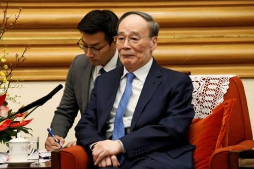 王岐山(ワン・チーシャン)国家副主席