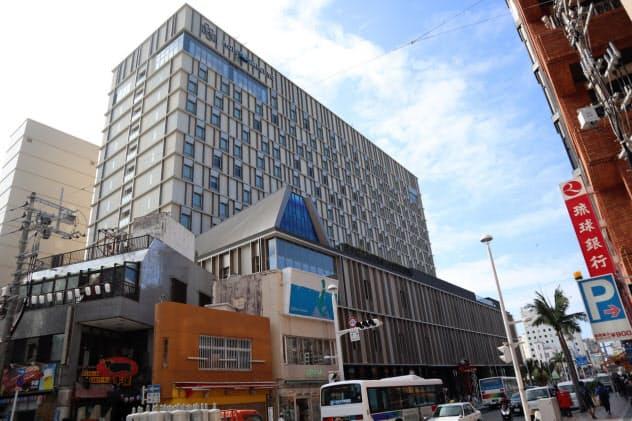 国映館跡地には「ホテル コレクティブ」が開業(那覇市)