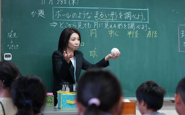 読解力を養うことを意識した授業(埼玉県戸田市の戸田市立笹目小学校)