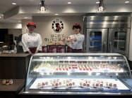 「はこだて恋いちご洋菓子店」は観光客が多い函館旧市街に出店する(北海道函館市)