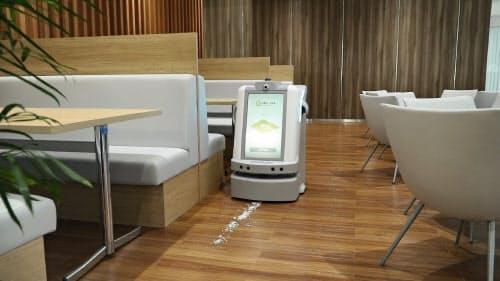 オムロンは案内、警備、掃除を1台でこなす新型ロボットを開発した