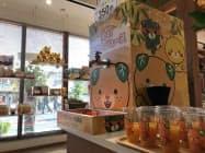 みきゃんパーク梅津寺の館内には「蛇口からみかんジュース」も設置