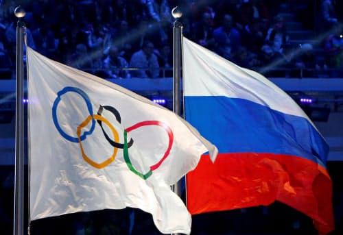 五輪など主要大会でのロシア国旗の使用も4年間禁止する=ロイター