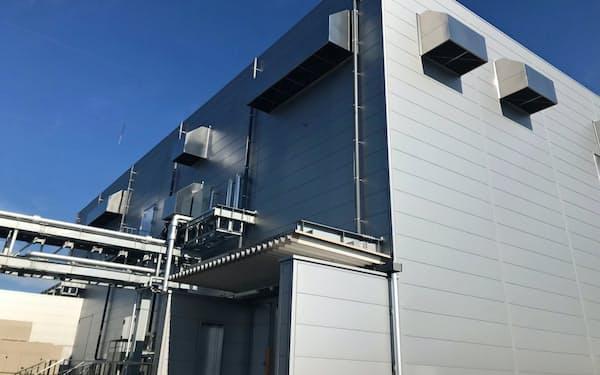 新しい701工場から世界へ製剤を輸出する(富山市)