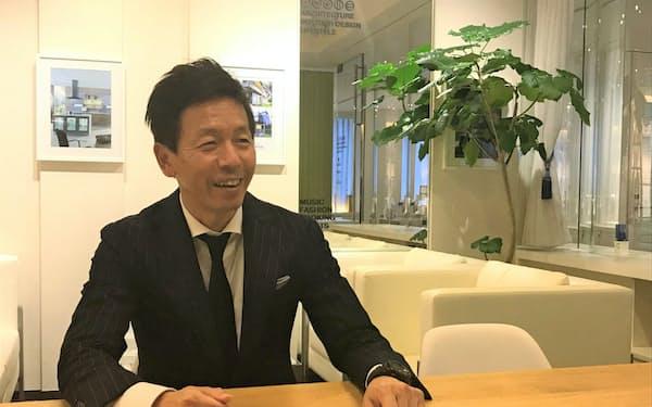 ランディックスの岡田和也社長
