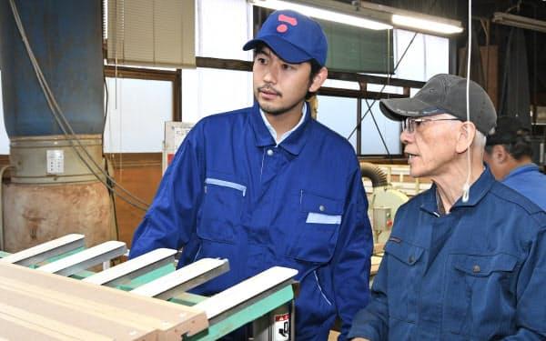 高齢者でも働きやすい作業環境を整えた