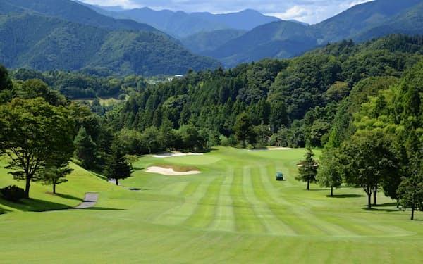 ゴルフ会員権相場は5カ月連続で前年を下回った(桜ゴルフ提供)
