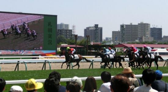今年8月の札幌競馬。来年の同じ時期は東京五輪のマラソン、競歩を避けて函館に移る