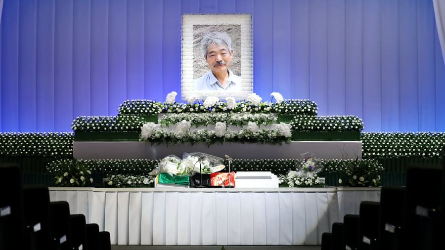 中村医師の告別式、参列者に深い悲しみ 福岡: 日本経済新聞