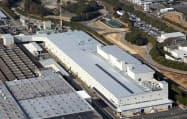 三菱自動車の岡崎製作所(愛知県岡崎市)