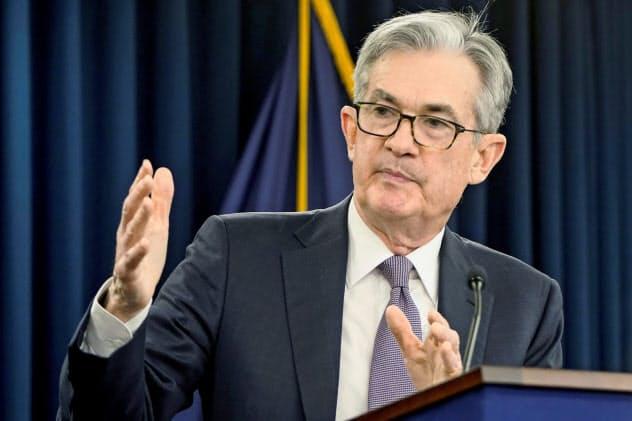 パウエルFRB議長は米景気の堅調ぶりを強調したが……(11日の記者会見)=ロイター