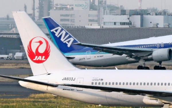 会計基準の影響で日本航空とANAホールディングスの座席利用率に差が出そうだ