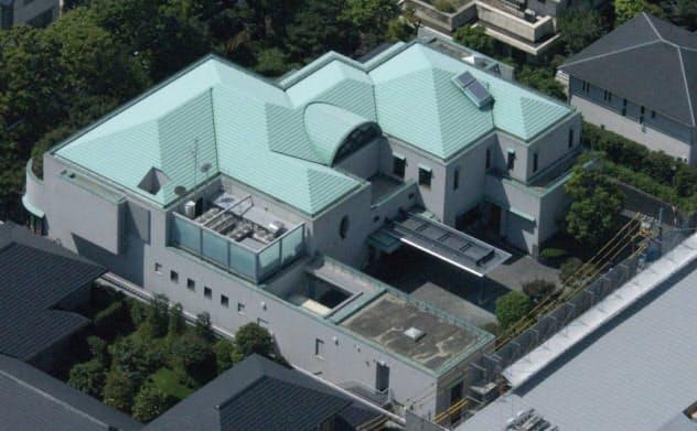 一時期、仮の首相公邸として使用された「五反田共用会議所」=共同