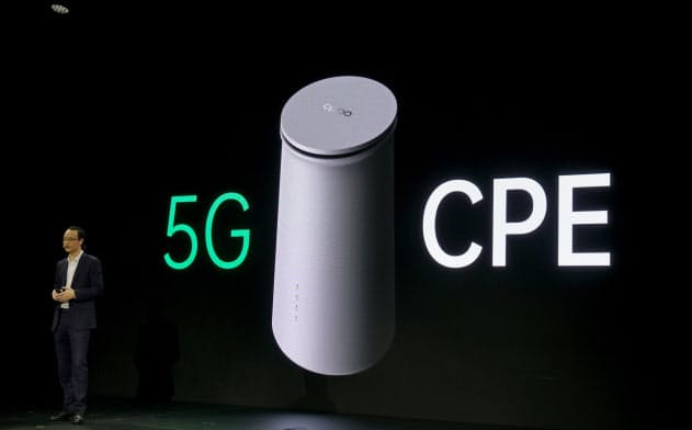 5G対応のCPEは、家庭内の無線LANだけでなくIoT機器を接続できる