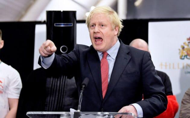 保守党ジョンソン氏「EU離脱へ信任得た」
