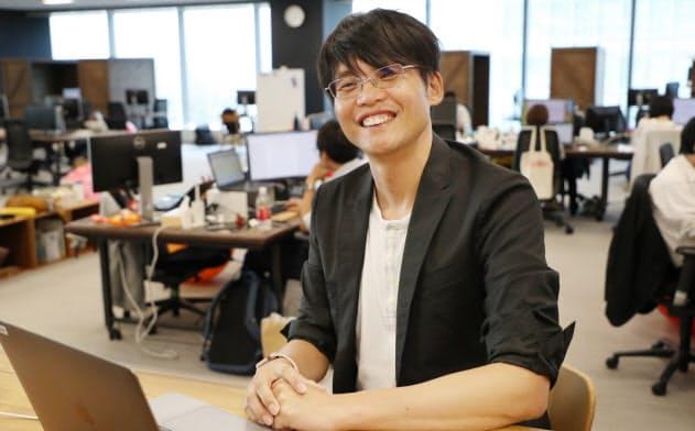高専在学中の1996年にさくらインターネットを創業した(写真は大阪市内の本社)