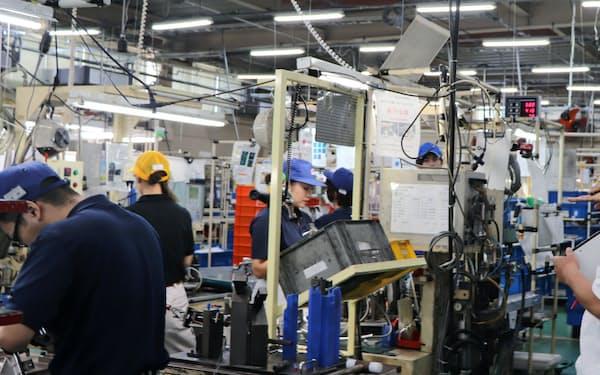 九州の製造業の現場では経済の減速を懸念する声が多く挙がる