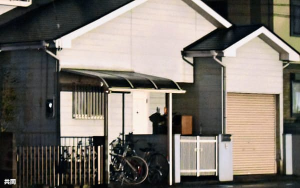 伊藤仁士被告の自宅(11月、栃木県小山市)=共同