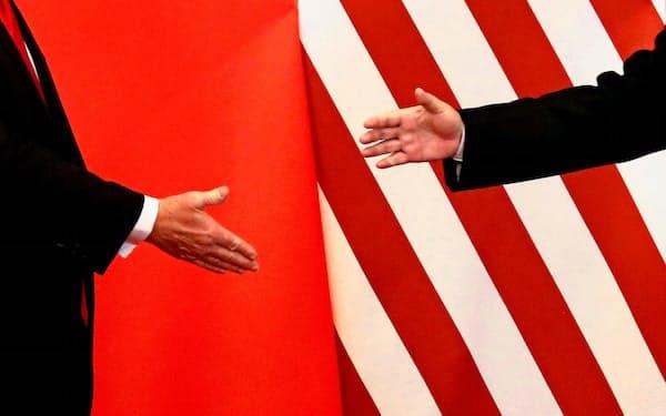 米中両国は貿易交渉を巡り「第1段階の合意」へ最終調整を続けた=ロイター